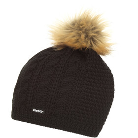 Eisbär Nelia Lux Cappello Donna, black/light brown